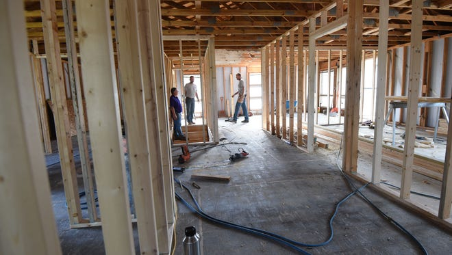 Renovation work continues on a new autism center opening in August at 273 Cline Avenue in Mansfield.