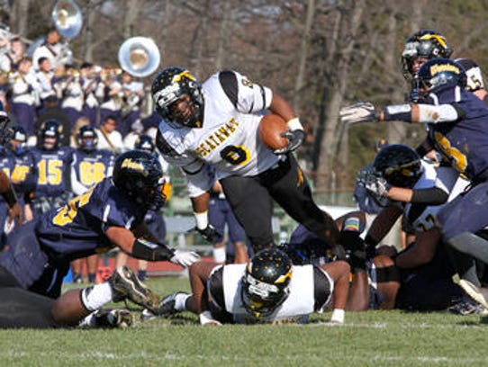 Piscataway and Franklin met on Thanksgiving Day in