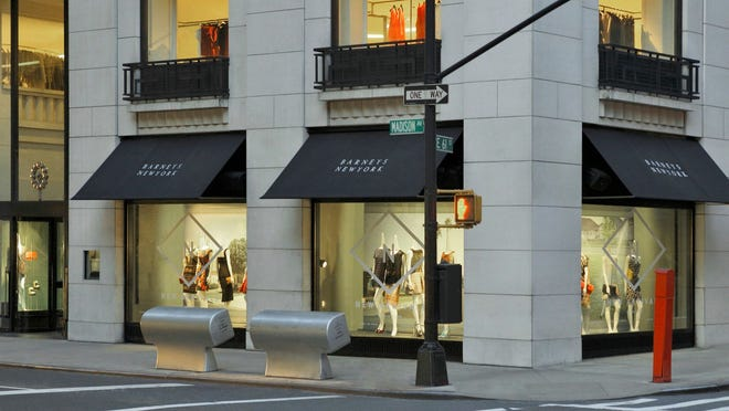 The high rent at its flagship Manhattan store is hurting Barneys, potentially leading to bankruptcy protection, reports say.