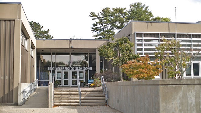 Norwell High School on Monday September 28, 2020  Greg Derr/ The Patriot Ledger