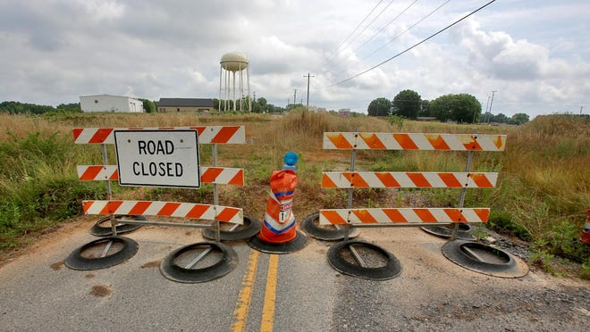 Construction of the new U.S. 74 Bypass cut a 300-foot stretch of Airport Road in Shelby. Funding has been approved for a bridge that will re-open the road.