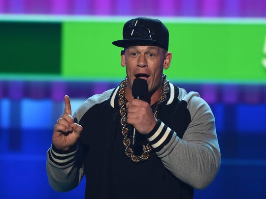 John Cena showcased his goofy side hosting Nickelodeon's
