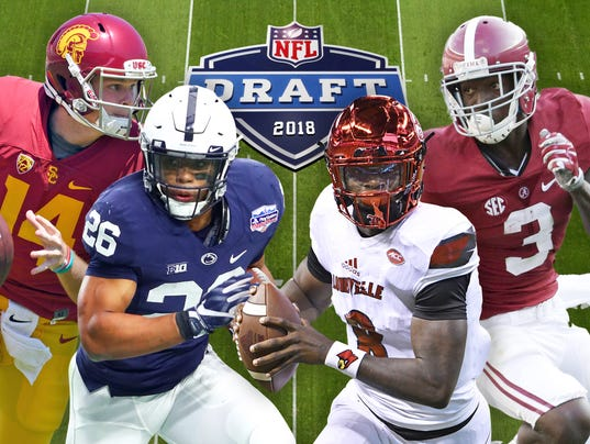 NFL mock draft: Mystery still remains throughout 2018 first round (usatoday.com)