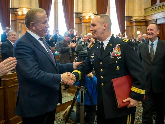 Maj. Gen. Tim Orr, adjutant general of the Iowa National