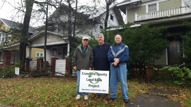 Representatives of the Crawford County Land Bank announce Saturday that two more properties were donated to the organization.