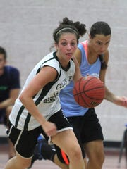 Kaity Healy playing for Colts Neck High School.