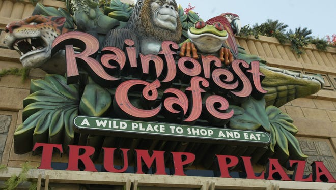 Rainforest Cafe in Atlantic City was one of the restaurants hit by hackers.