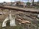 Tornado damage in Yankton