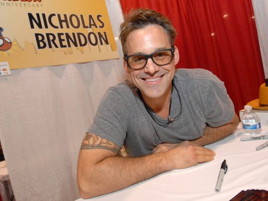 Actor Nicholas Brendon from the TV show Buffy the Vampire