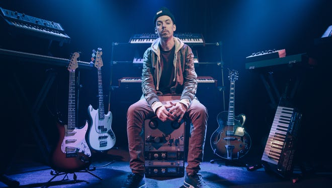 Seattle rapper Grieves willstop at Tricky Falls in El Paso, as part of his Running Wild Tour.