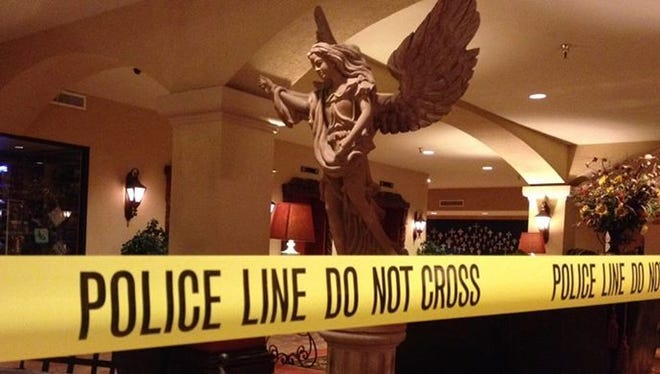 A New Mexico sheriff's deputy was shot and killed by his partner in a Las Cruces hotel on Oct. 27, 2014