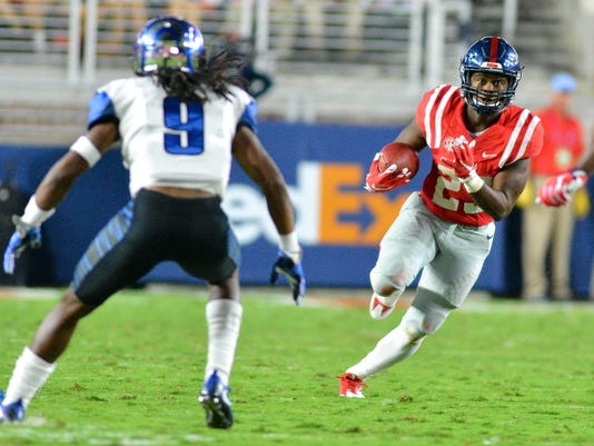 NCAA Football: Memphis at Mississippi