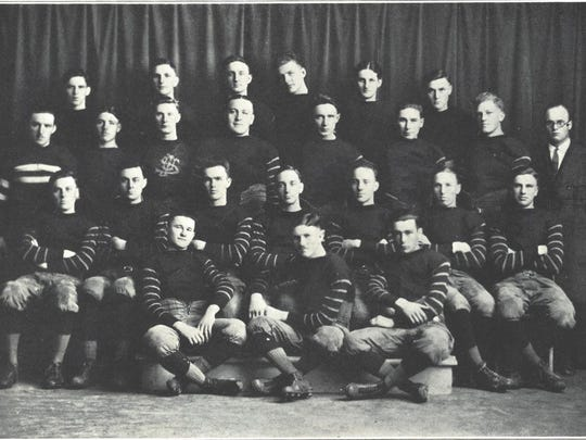 The 1921 team, which featured future NFL Hall of Famer