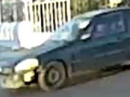 El Paso police are looking for this car suspected in a fatal pedestrian hit-and-run on June 17 on Cleveland Avenue and Clark Drive.