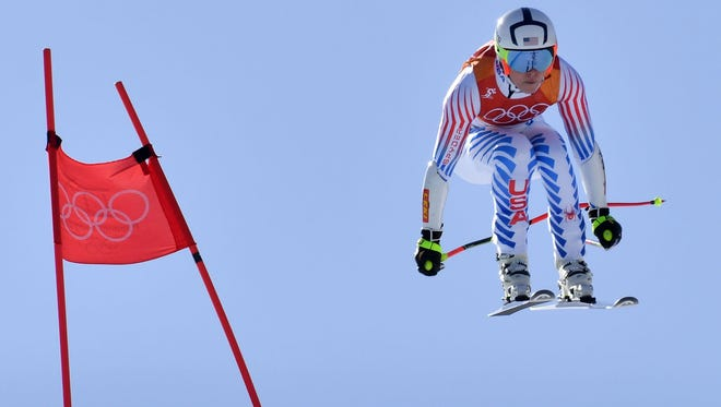 Lindsey Vonn received hate-tweets after finishing sixth in the Super-G.