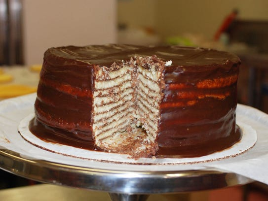 Enjoy Smith Island Cake during the arts festival on