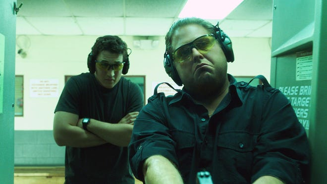 "Miles Teller, left, and Jonah Hill star in ""War Dogs."""
