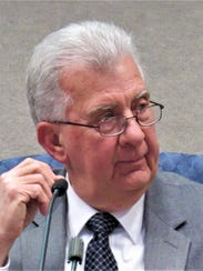 Ron Pinchok considers a decision during a recent board