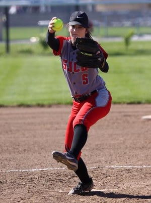 SJCC's Brooke Casperson earned the win in the circle Monday against Northwood.