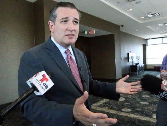 U.S. Sen. Ted Cruz, R-Texas, is shown during a June