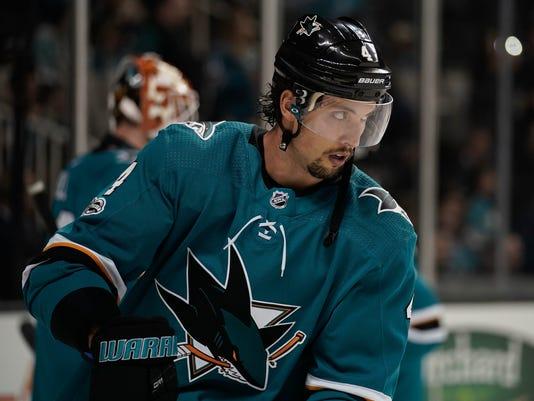 NHL: Winnipeg Jets at San Jose Sharks