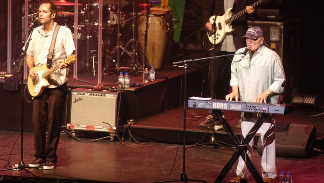 The Beach Boys performed at Binghamton University's Anderson center in 2011.