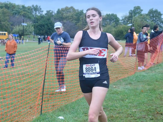 Samantha Green of Park Ridge/Emerson claimed a Group 1 title on Nov. 11.