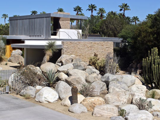 Designed by architect Richard Neutra in 1946, the Kaufmann