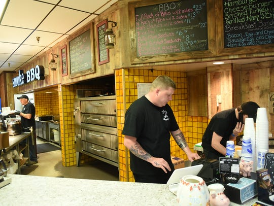Holy Smokehouse BBQ is one of the mall's newest restaurants.