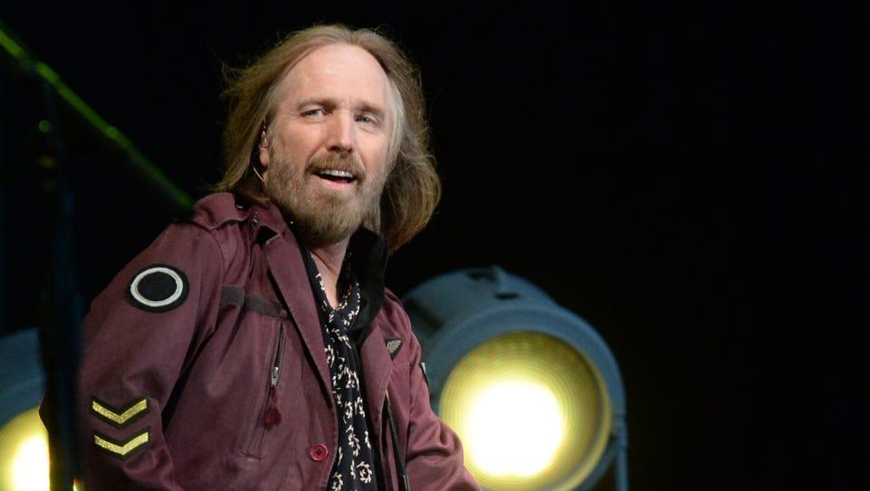 Musician Tom Petty of Tom Petty & The Heartbreakers