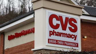 This Jan. 18, 2017, file photo shows a CVS Pharmacy in Pittsburgh.  (AP Photo/Gene J. Puskar, File)