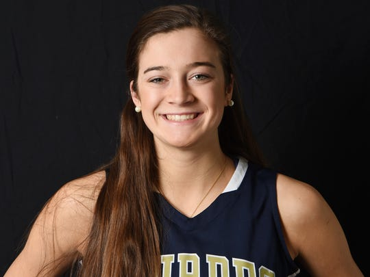 Maddie Siegrist from Our Lady of Lourdes High School is the girls basketball Player of the Year.
