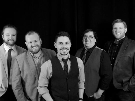 Jason Givens and the Wanderers: Pictured left to right: Fowler Holding, Chris Kratzer, Jason Givens, Andy Martin, Stefan Slade
