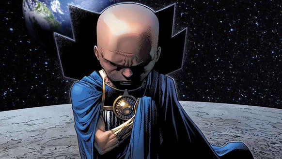 The omniscient Watchers are now a part of the Marvel