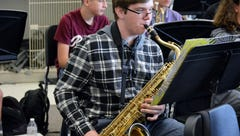 Musical instruments aren't cheap. This El Diamante High School student's project helps