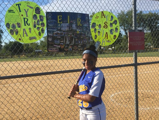 Buena senior Tyra Capers has developed into a reliable