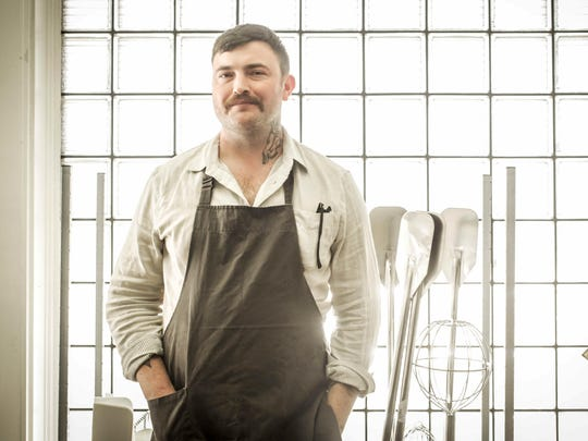 Milktooth chef/owner Jonathan Brooks. Like the Indianapolis food scene, which has mushroomed with chef-driven independent restaurants just in the last six years, Milktooth gained prominence rapidly after opening in January 2015.
