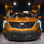 Photos of concept cars, new trucks and luxury vehicles