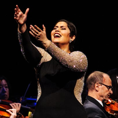 Vanessa Vasquez performance at Phoenix Opera's 2016