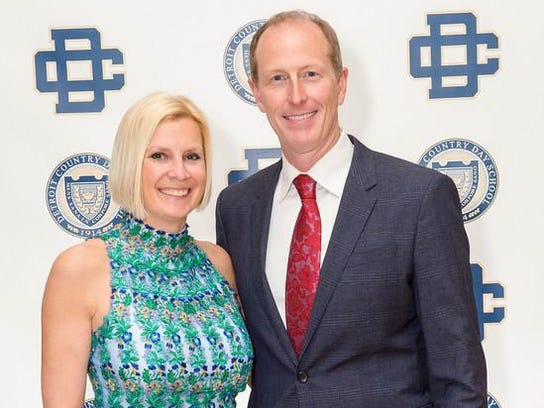 Tracy and Don Nystrom were the chairs of the Detroit