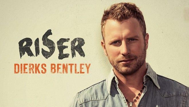 """Dierks Bentley album cover for """"Riser"""""""