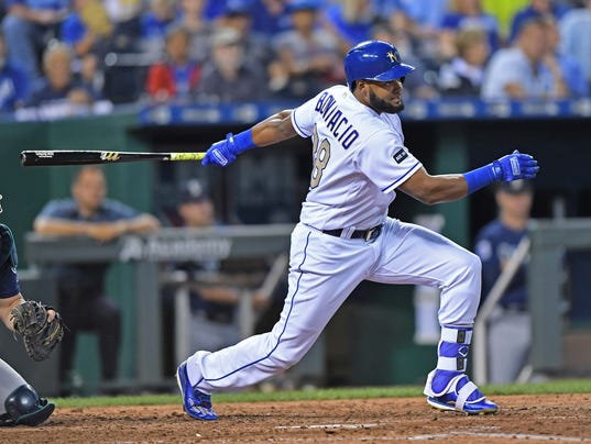 MLB: Seattle Mariners at Kansas City Royals