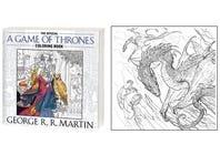 New 'Game of Thrones' Coloring Page