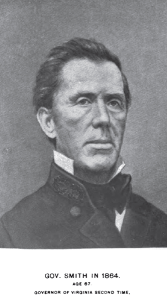 "William ""Extra Billy"" Smith served as governor of Virginia. But he also headed a brigade when the Confederates invaded York County in the summer of 1863."