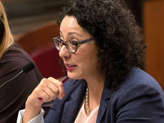 In this June 22, 2016, file photo, Assemblywoman Cristina