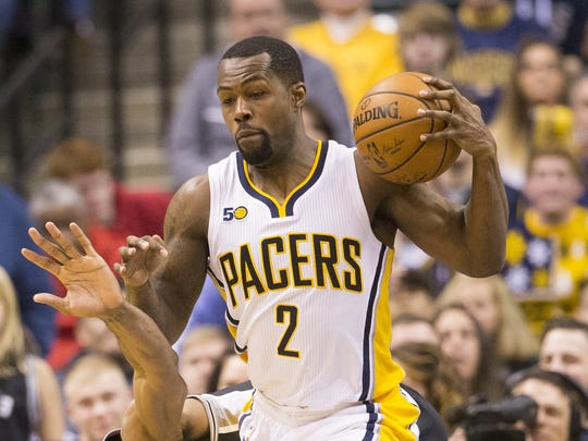 Rodney Stuckey, shown here against the Spurs in 2017, had a productive first season after signing as a free agent but struggled with injuries after he re-signed.