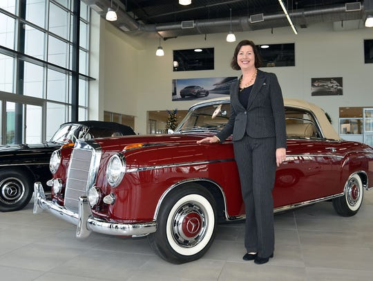 Mercedes-Benz co-owner and president Trudy Higginbotham-Moody