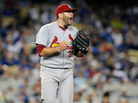 Lance Lynn, St. Louis Cardinals (Ole Miss): Set himself up well for a payday in free agency by coming back from Tommy John surgery with a 3.43 ERA (seventh in the NL) across 33 starts. Was 11-8, striking out 153 batters.