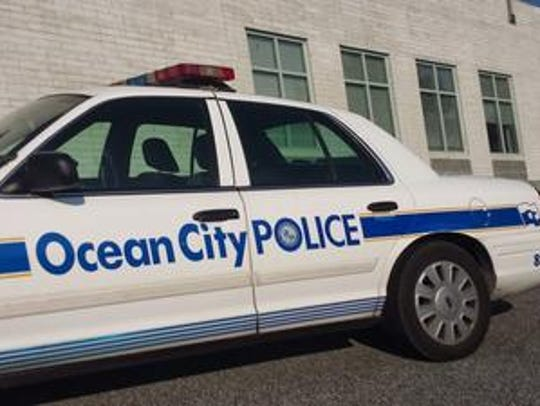 Ocean City Police Department cars will be on display at the Big Toys event.