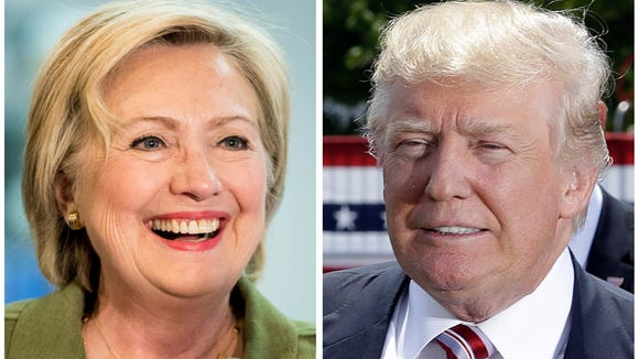 Democratic presidential candidate Hillary Clinton and Republican presidential candidate Donald Trump finally hear from the voters on Tuesday.